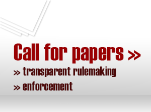 Call for papers - regulatory transparency and enforcement