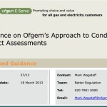 L'OFGEM rivede le Impact Assessment Guidelines