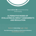 #AWOA2019: Alternative Modes of Evaluating EU Impact Assessments and Regulation